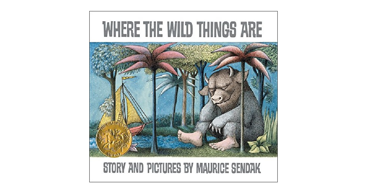 Where the Wild Things Are ONLY $5.00 on Amazon