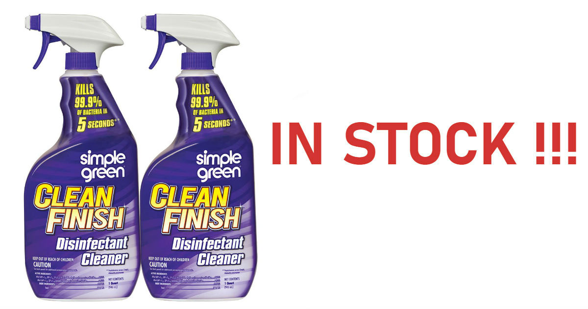 Disinfectant Cleaner 2 Pack -.