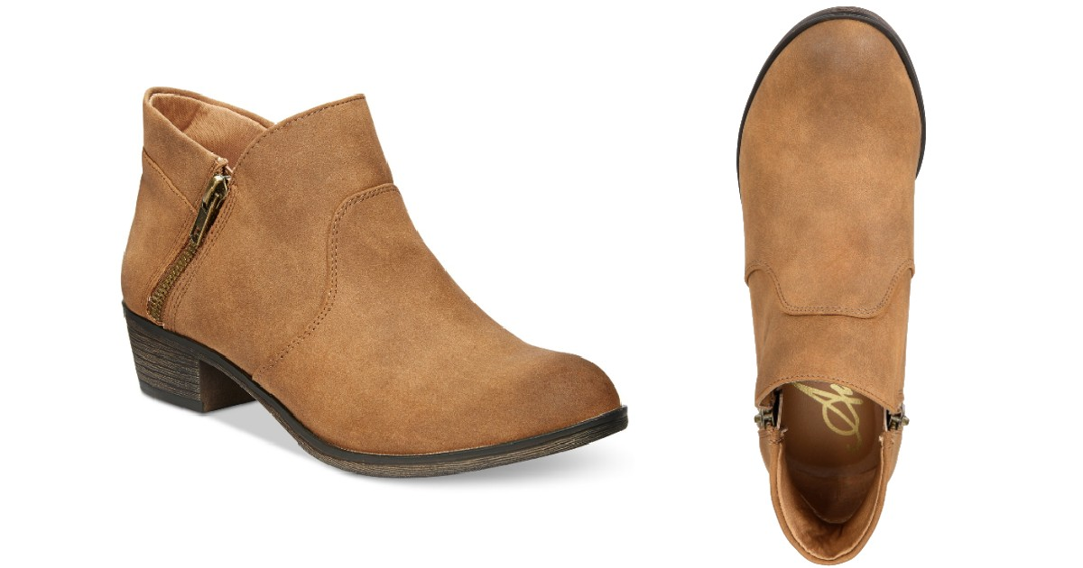 American Rag Abby Ankle Booties ONLY $10.97 at Macy's (Reg $70)