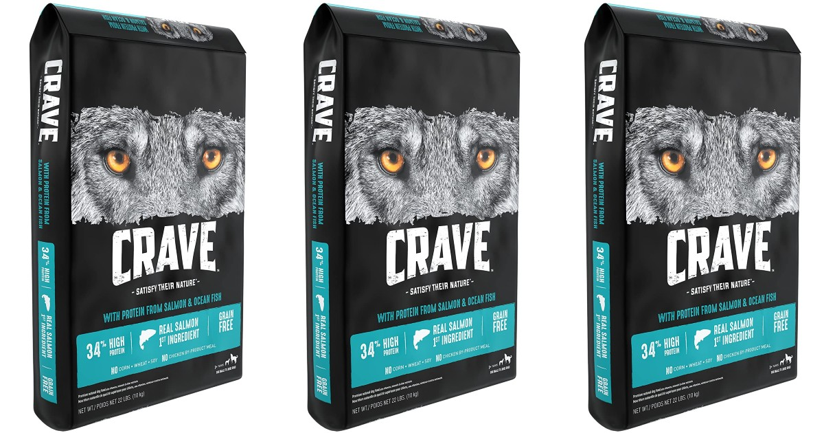Crave High Protein Adult Dry Dog Food ONLY $21.93 (Reg $45)