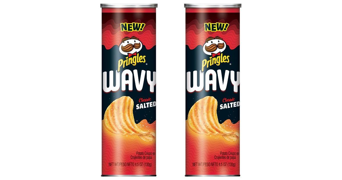 FREE Pringles Wavy Potato Cris...