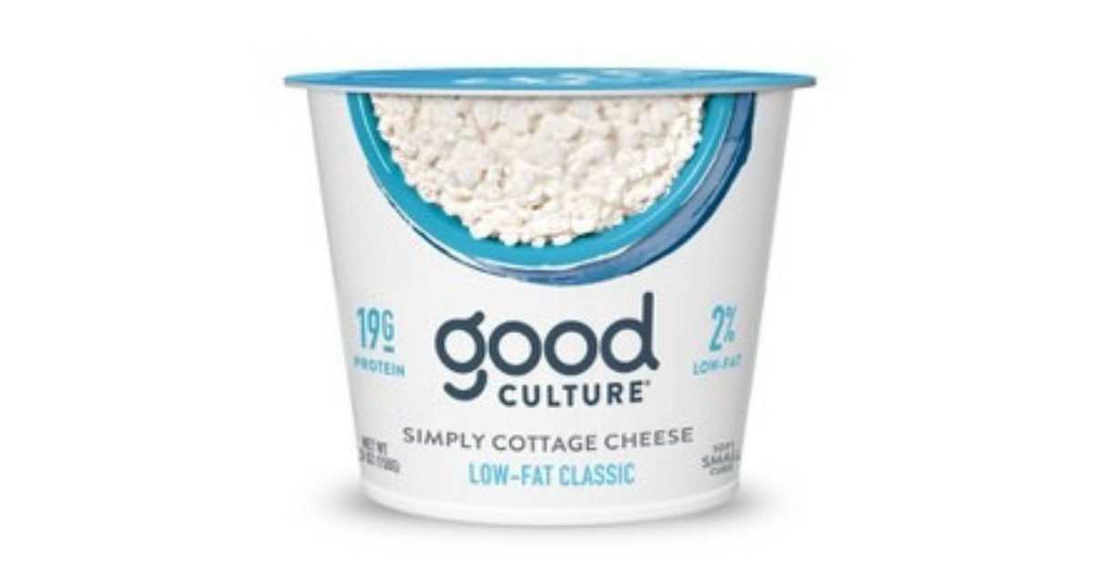 Good Culture Cottage Cheese ONLY $0.25 at Target