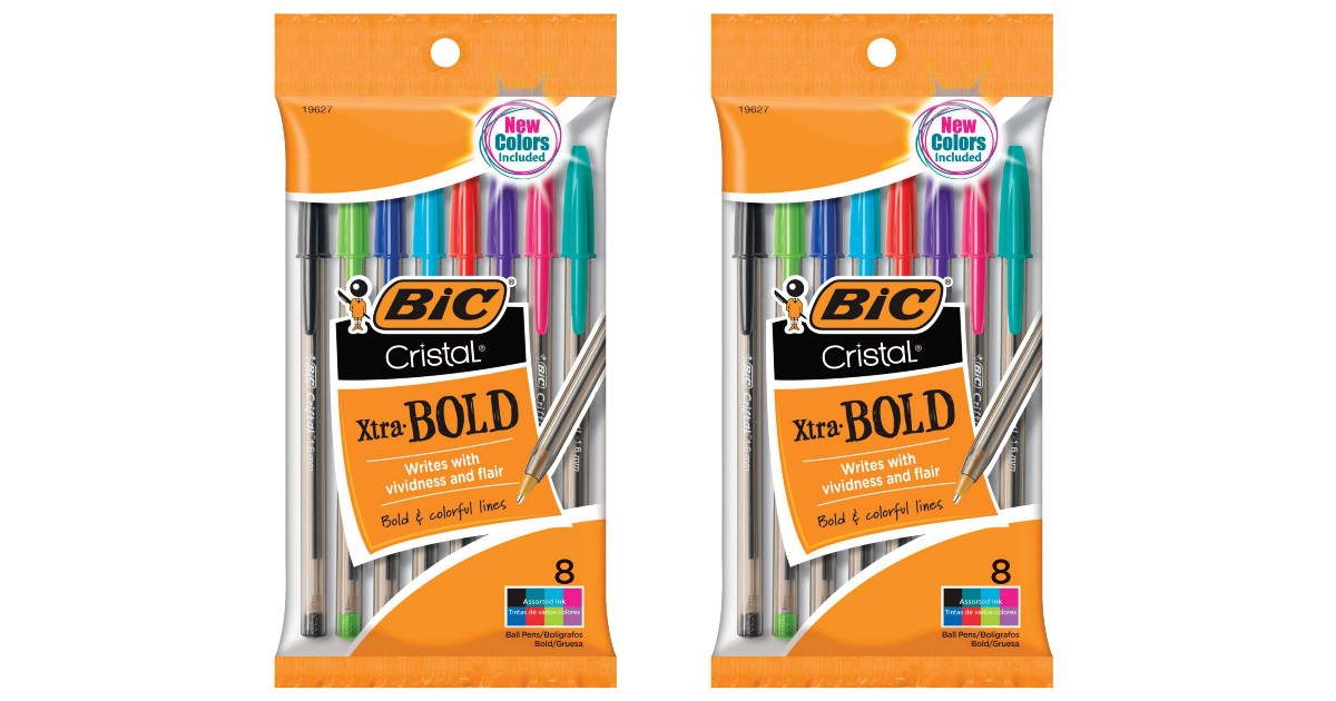 BIC Cristal Pens ONLY $0.49 at Walgreens