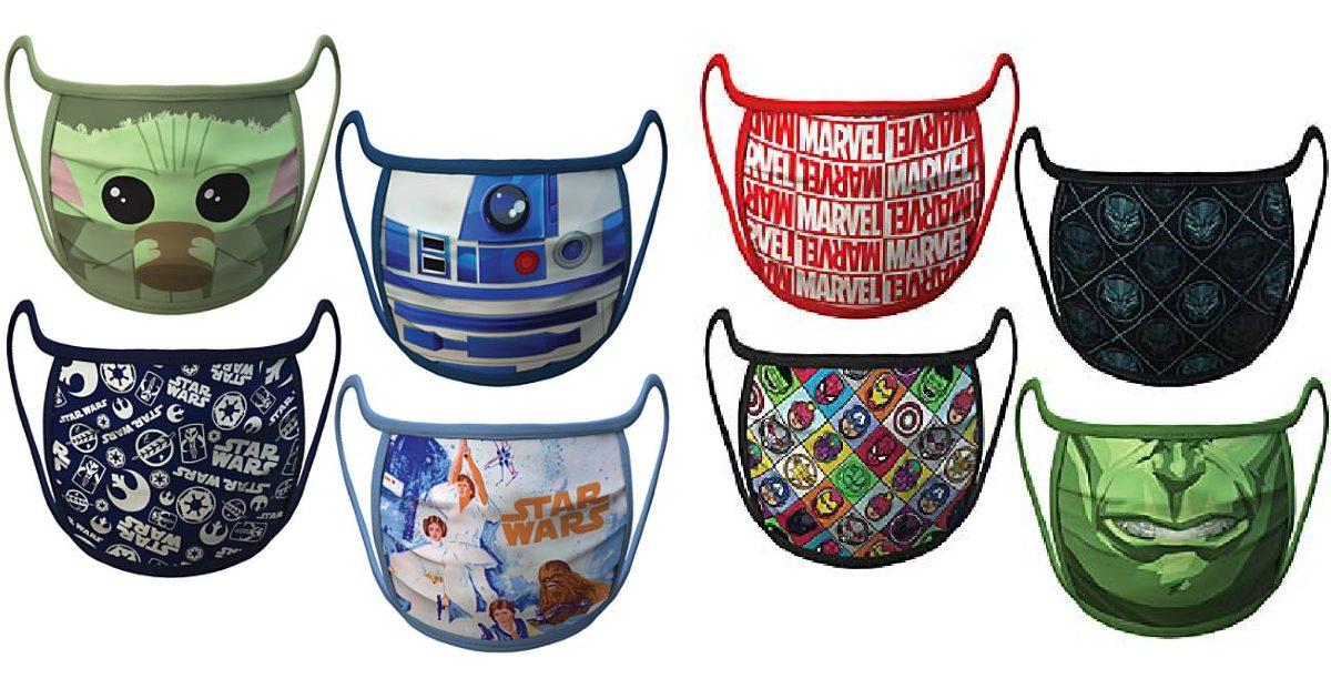 Disney Reusable Face Masks ONL...
