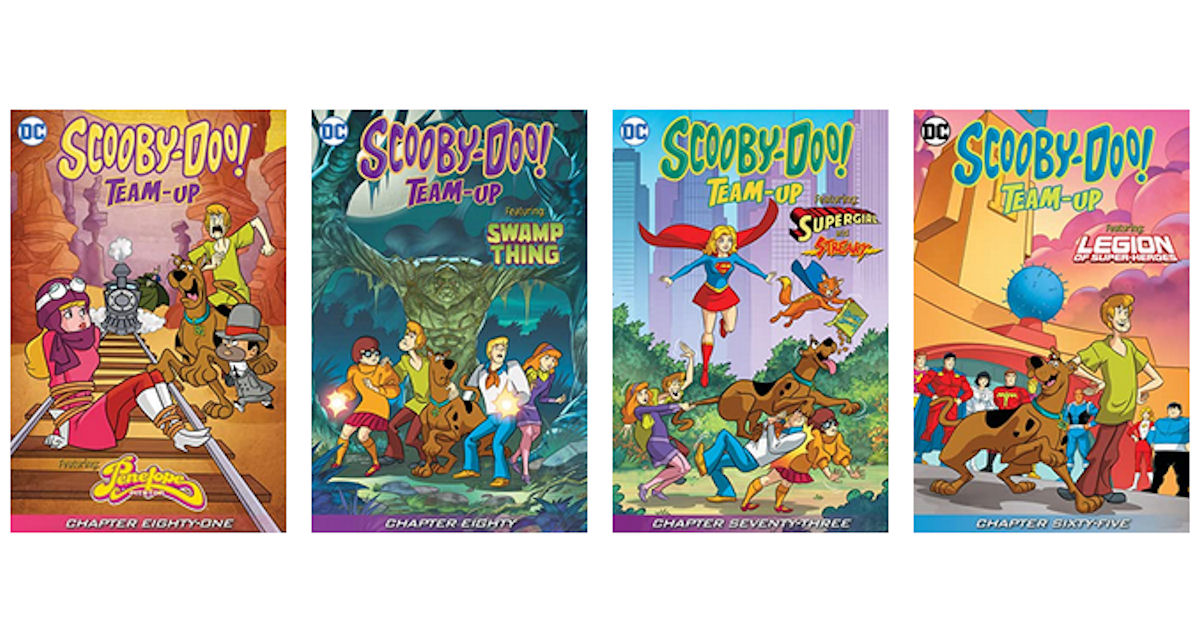 FREE Scooby-Doo Graphic Novels...