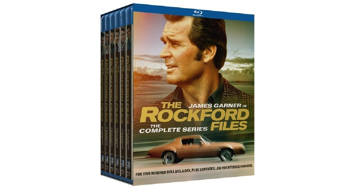 Rockford Files Complete Series for ONLY $36.16 (Reg. $130)