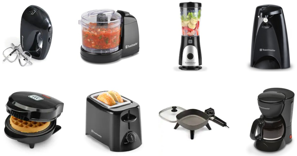 Small Kitchen Appliances ONLY $2.14 at Kohl's - After Rebate