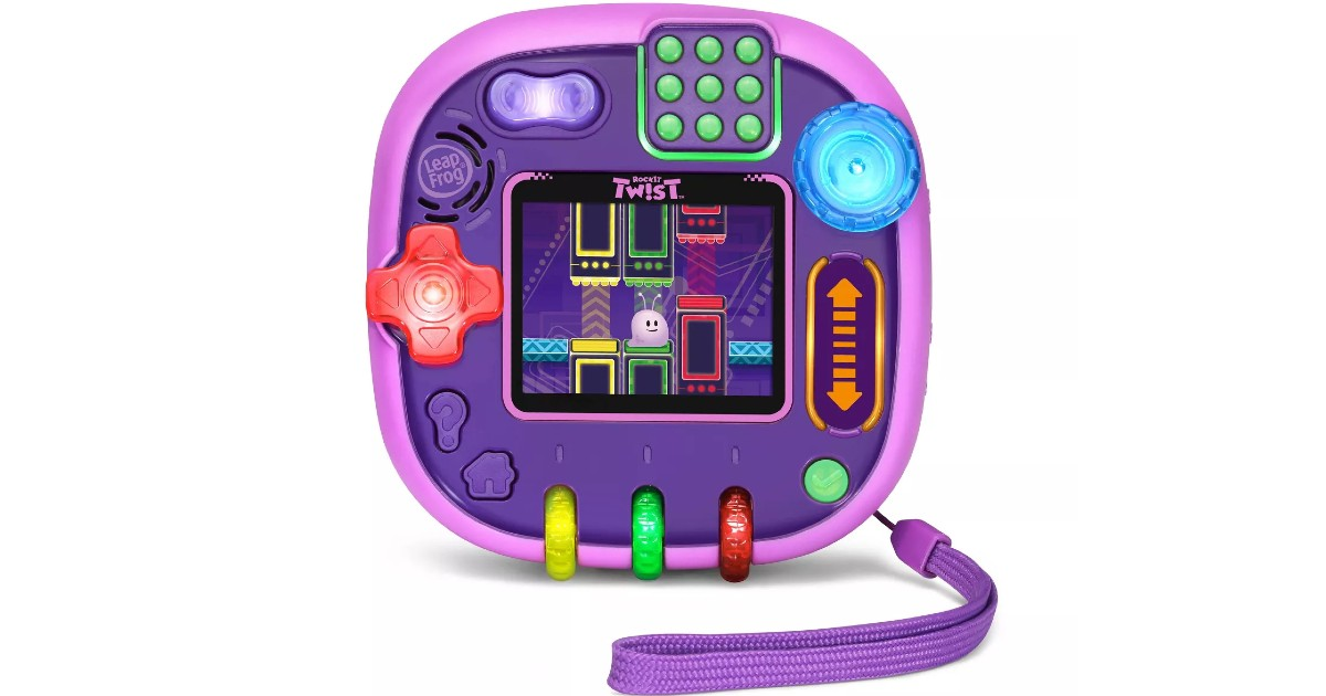 LeapFrog RockIt Twist Purple ONLY $24.49 (Reg $35)