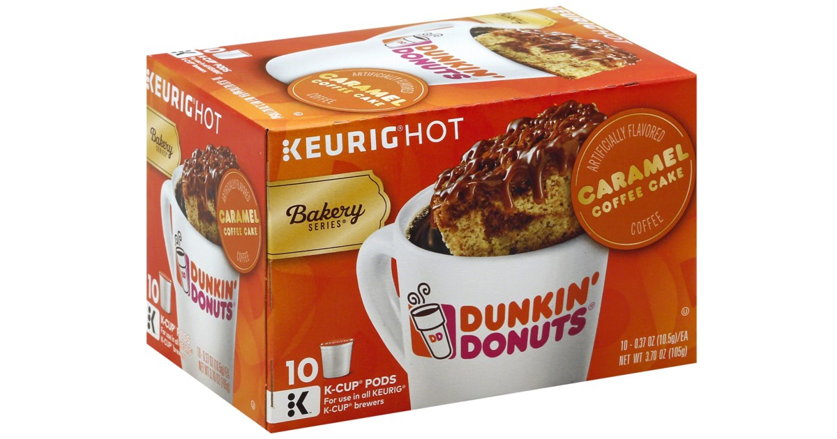 Dunkin Donuts K-Cups 10-Count ONLY $4.24 at Walgreens (Reg $9)