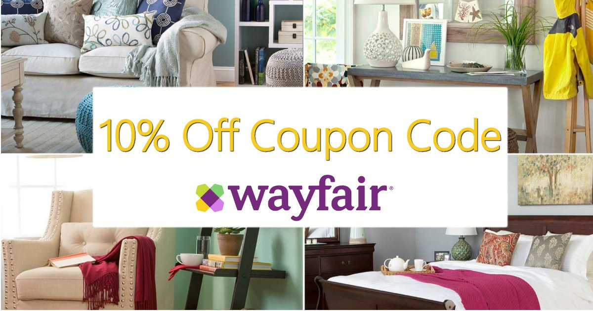 Wayfair Memorial Day Clearance Sale and 10% Off Promo Code