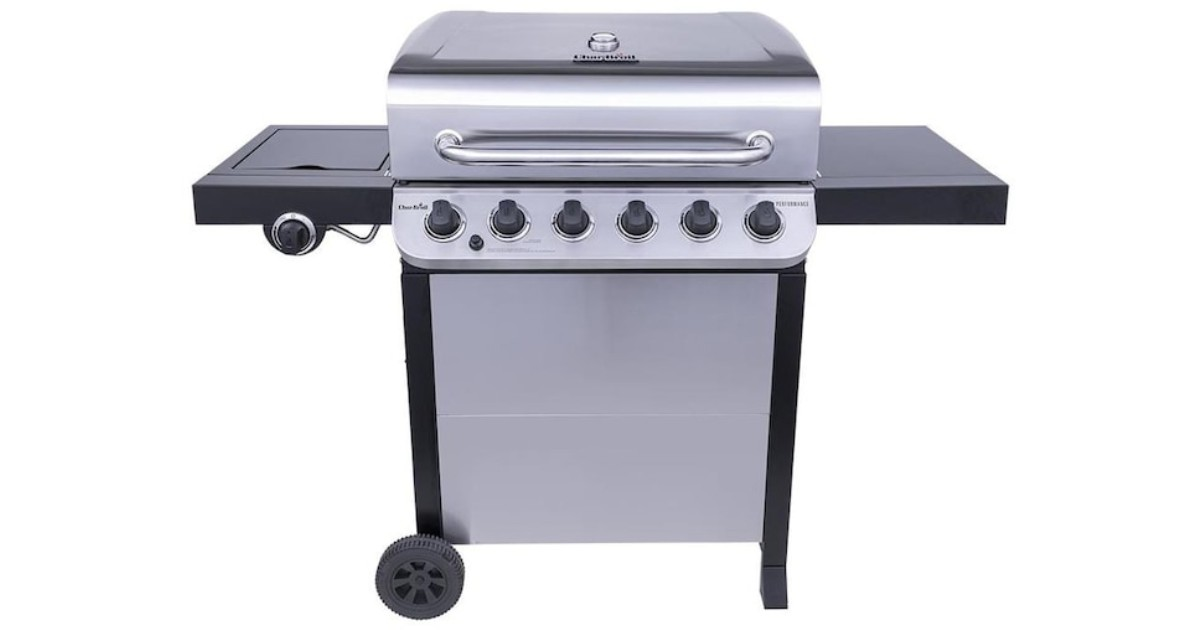 Char-Broil 6-Burner Gas Grill ONLY $189 at Lowe's (Reg $289)