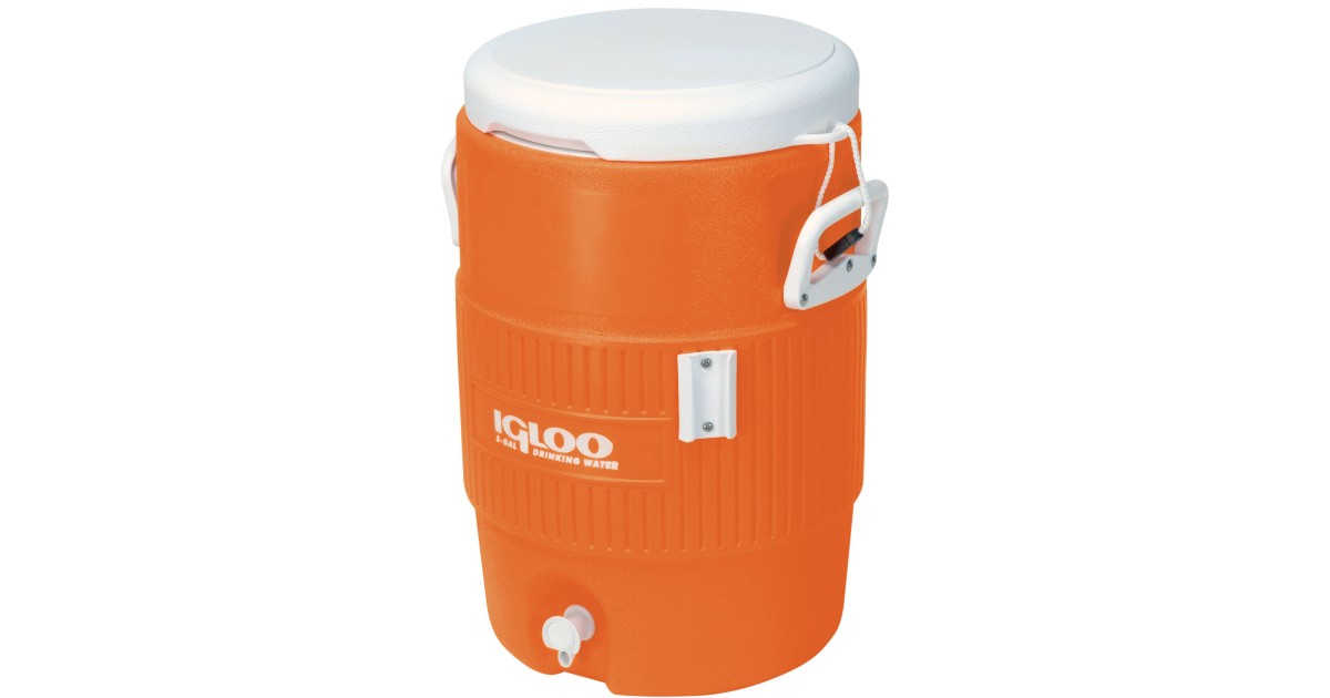 Igloo 5-Gallon Heavy-Duty Beverage Cooler ONLY $18.88 (Reg $25)