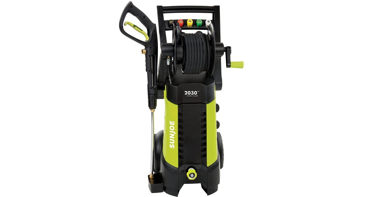 Sun Joe Electric Pressure Washer ONLY $124 (Reg. $230)