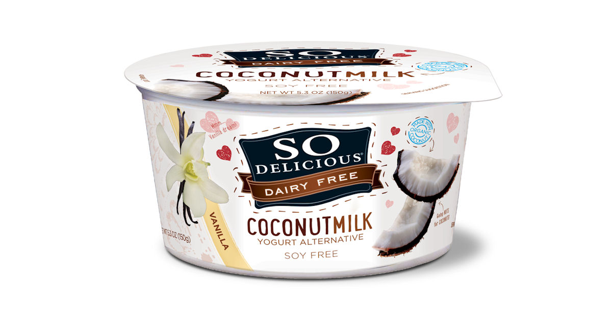 FREE So Delicious Coconutmilk.