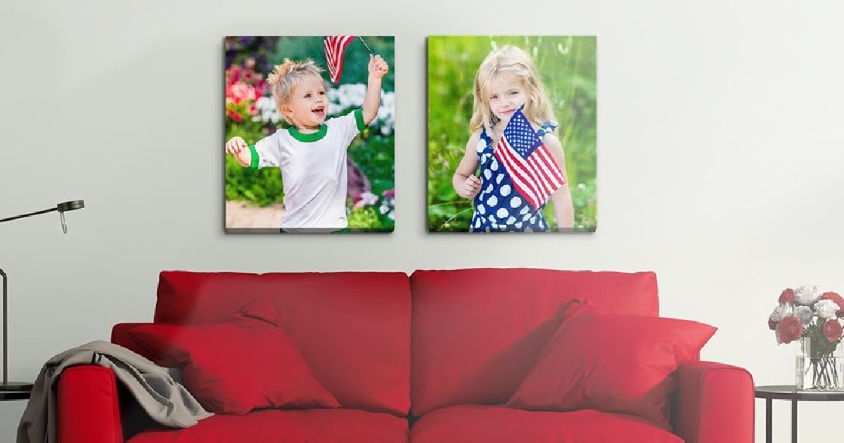 93% Off Canvas Photos: Perfect for Father's Day