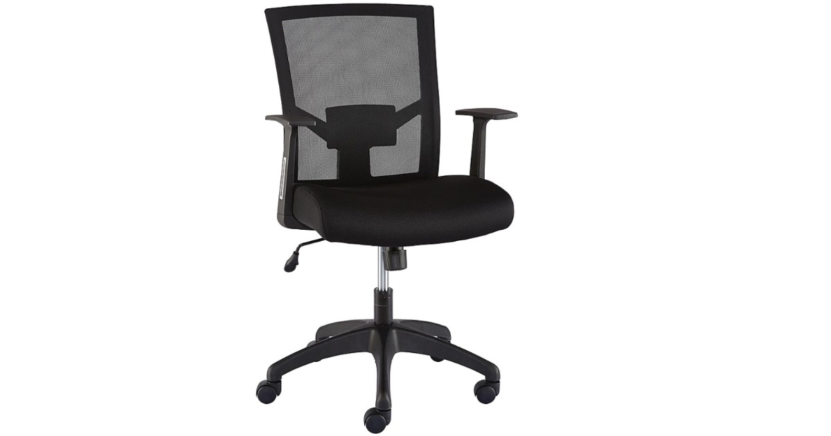 Ardfield Mesh Back Fabric Task Chair ONLY $74.98 (Reg $130)