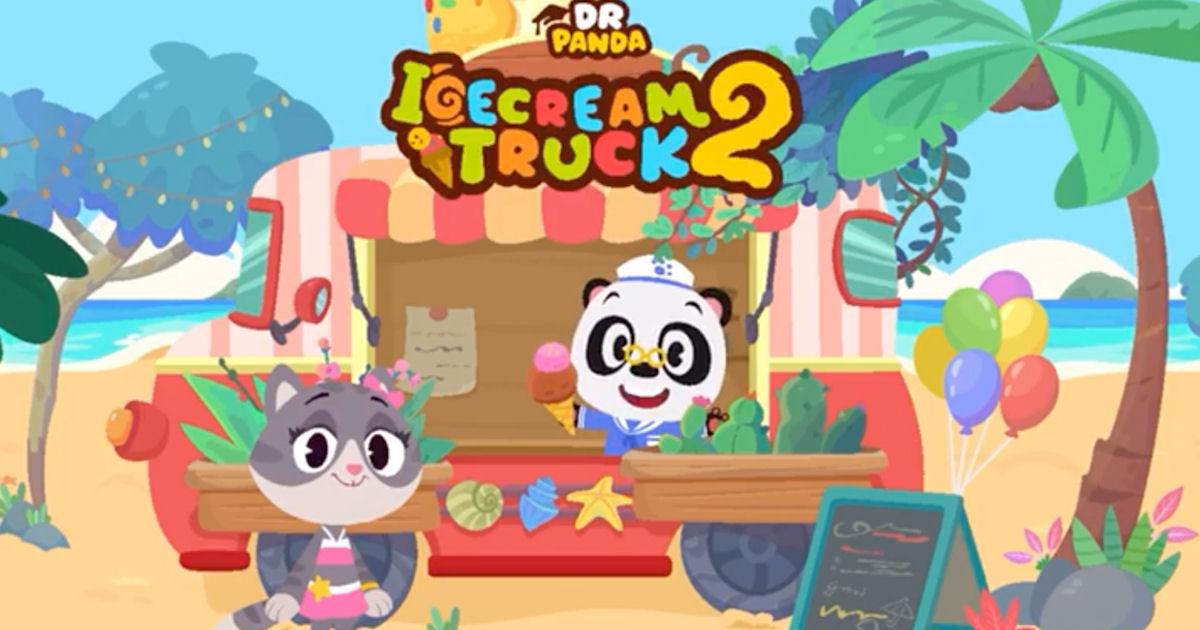 FREE Dr. Panda Ice Cream Truck 2 App