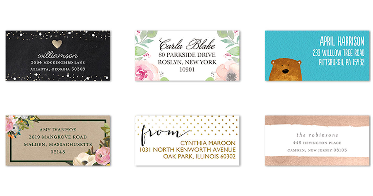 Tiny Prints - 48 FREE Address Labels + Free Shipping