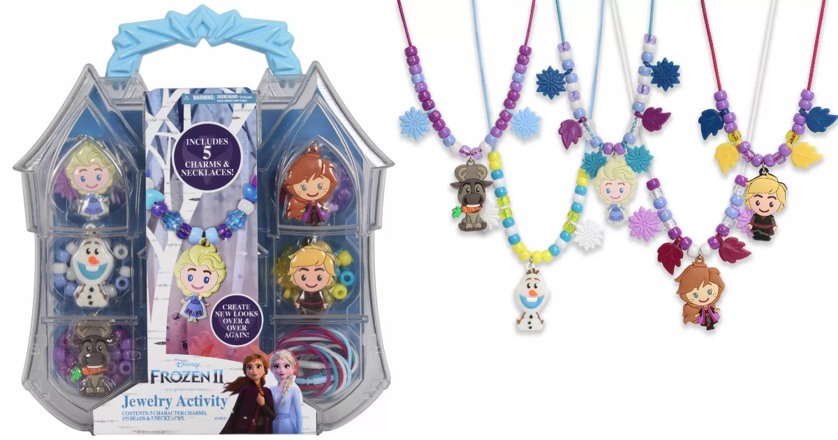 Disney Frozen 2 Necklace Activity Set ONLY $7.91 (Reg $10)