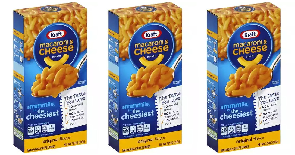 Kraft Mac & Cheese Dinners ONLY $9.79 at Walgreens