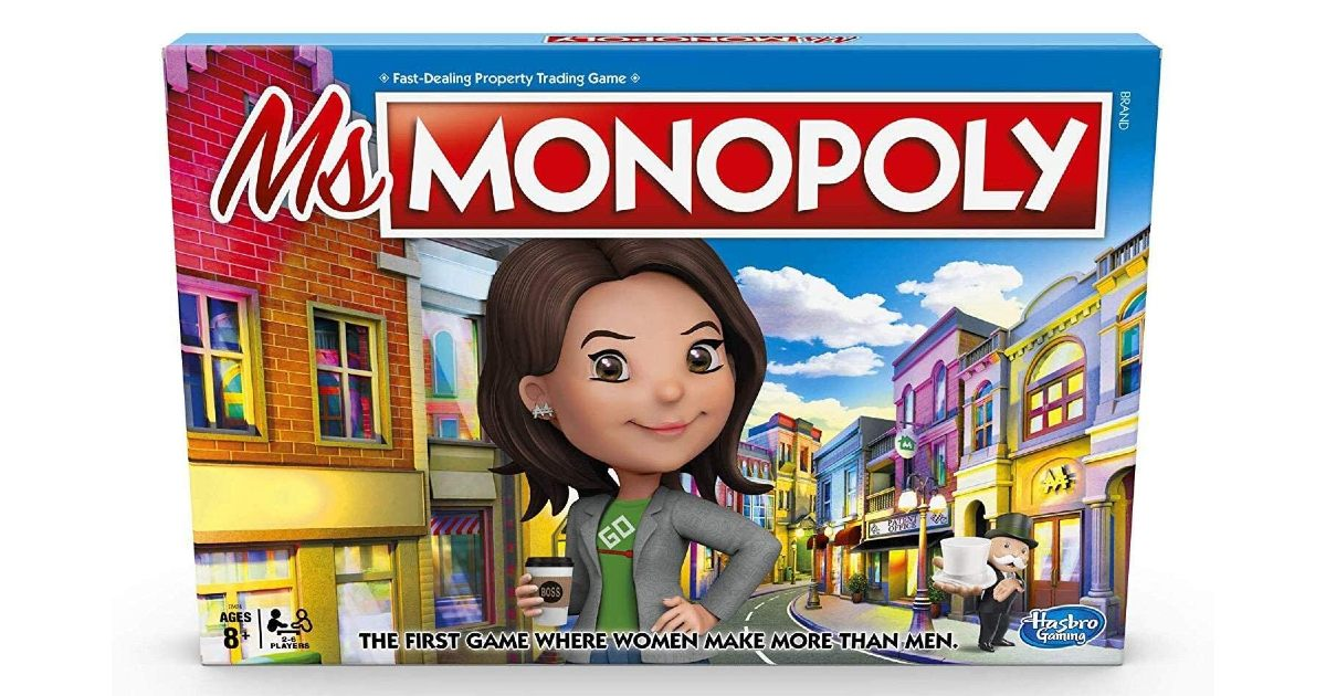 Ms. Monopoly Board Game on Amazon