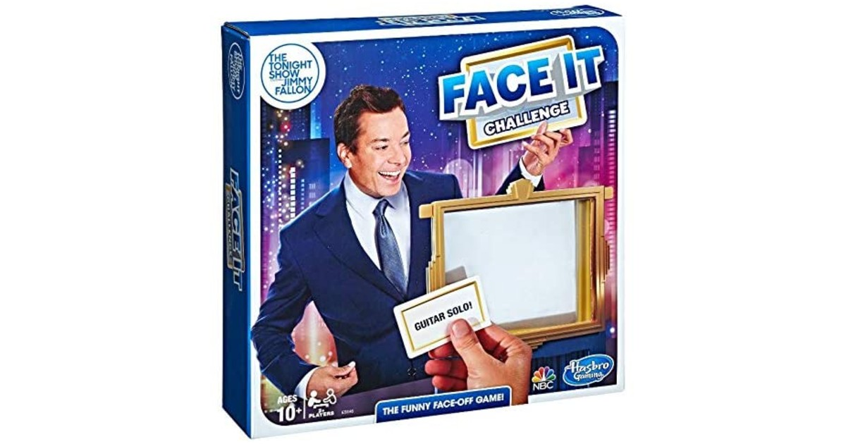 Jimmy Fallon Face It Challenge Party Game ONLY $5.48 (Reg. $20)