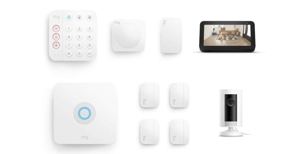 Ring Alarm Kit with Indoor Cam & Echo Show 5 ONLY $239 Shipped