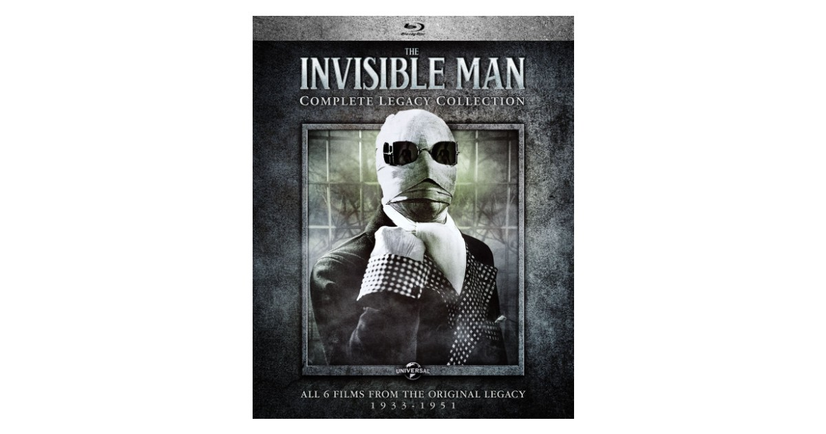 The Invisible Man: Complete Legacy Collection $14.99 (Reg. $40)