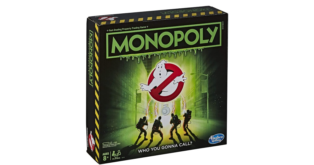 Monopoly Game: Ghostbusters Edition ONLY $15.88 (Reg. $30)
