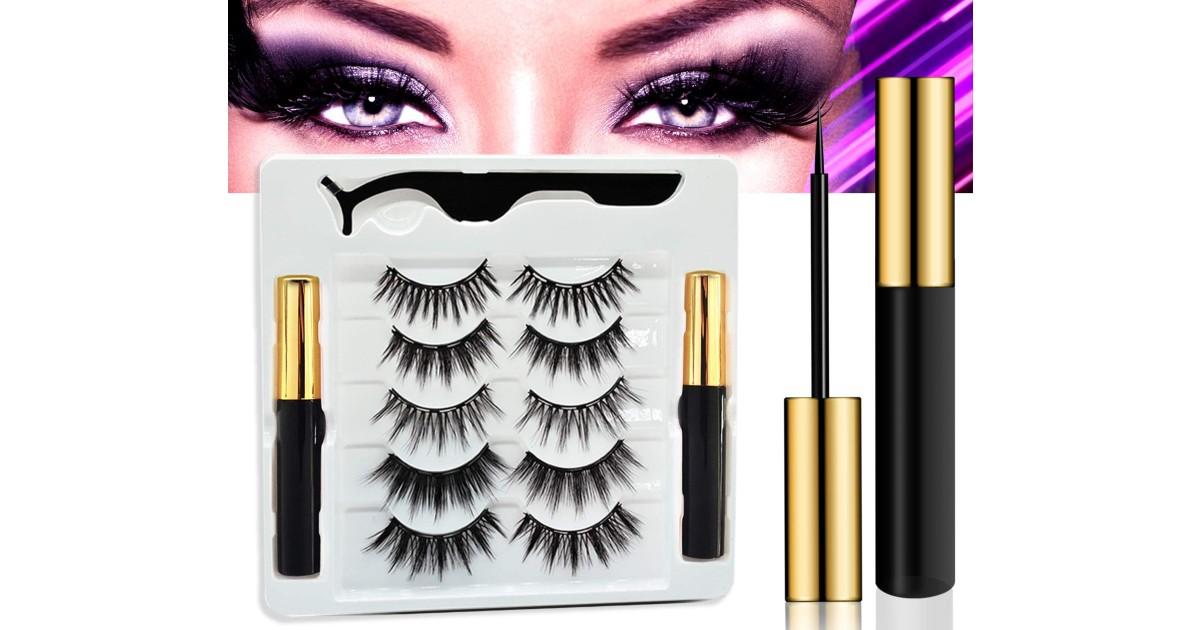 Magnetic Eyelashes with Eyeliner ONLY $21.24 (Reg. $57)