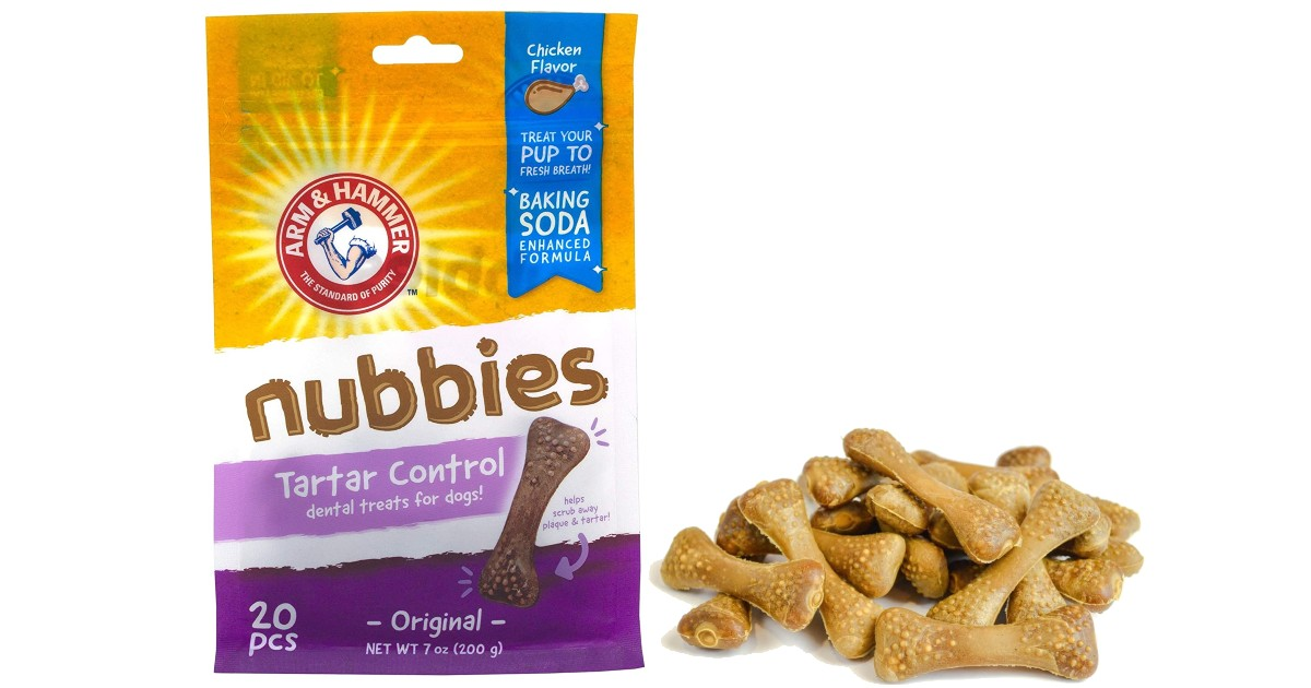 Arm & Hammer 20-Ct Bag Dental Treats for Dogs ONLY $2.61 Shipped