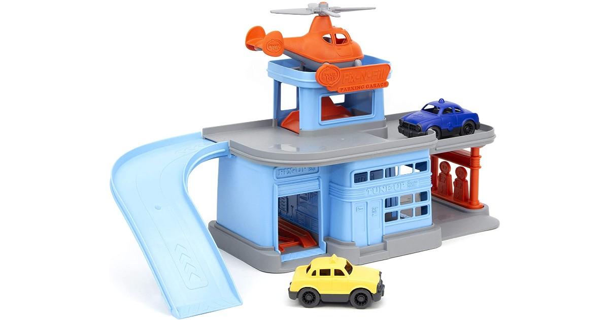 Green Toys Parking Garage ONLY $19.93 (Reg $40)