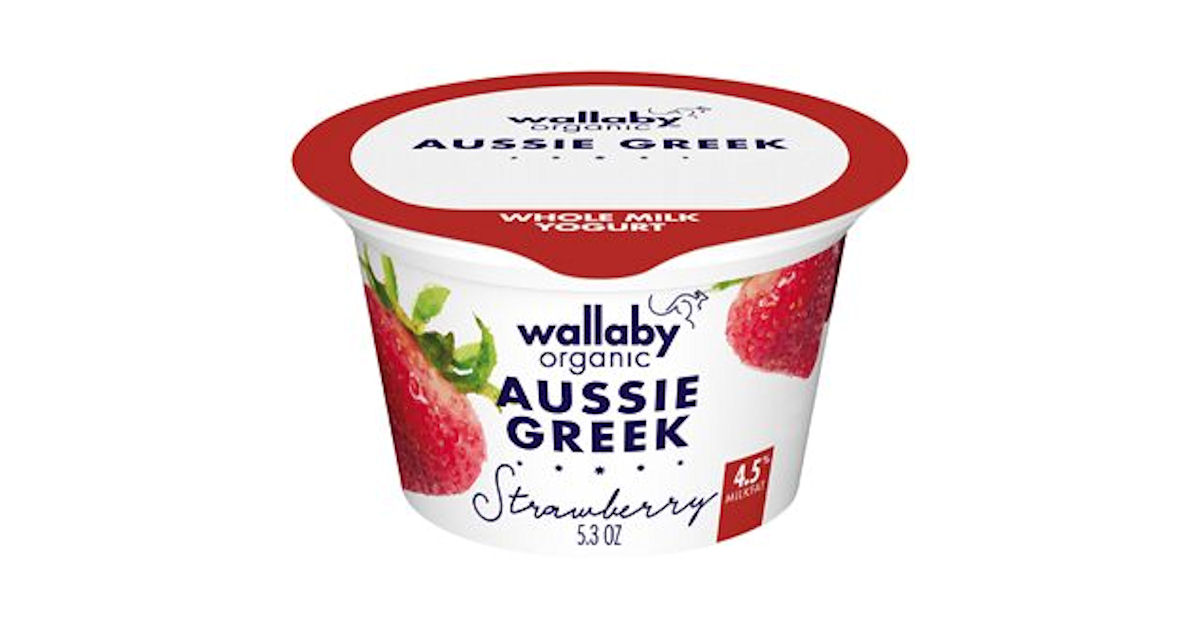 Wallaby Yogurt