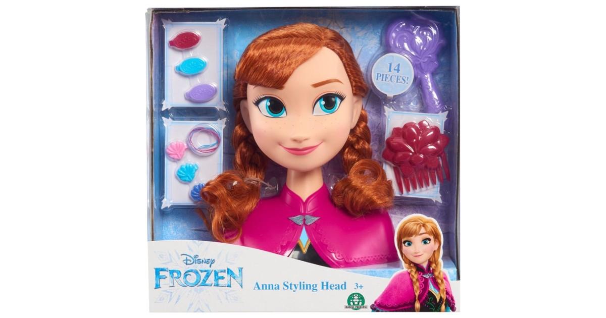 Disney Frozen Anna Styling Head ONLY $7.49 (Reg. $16)