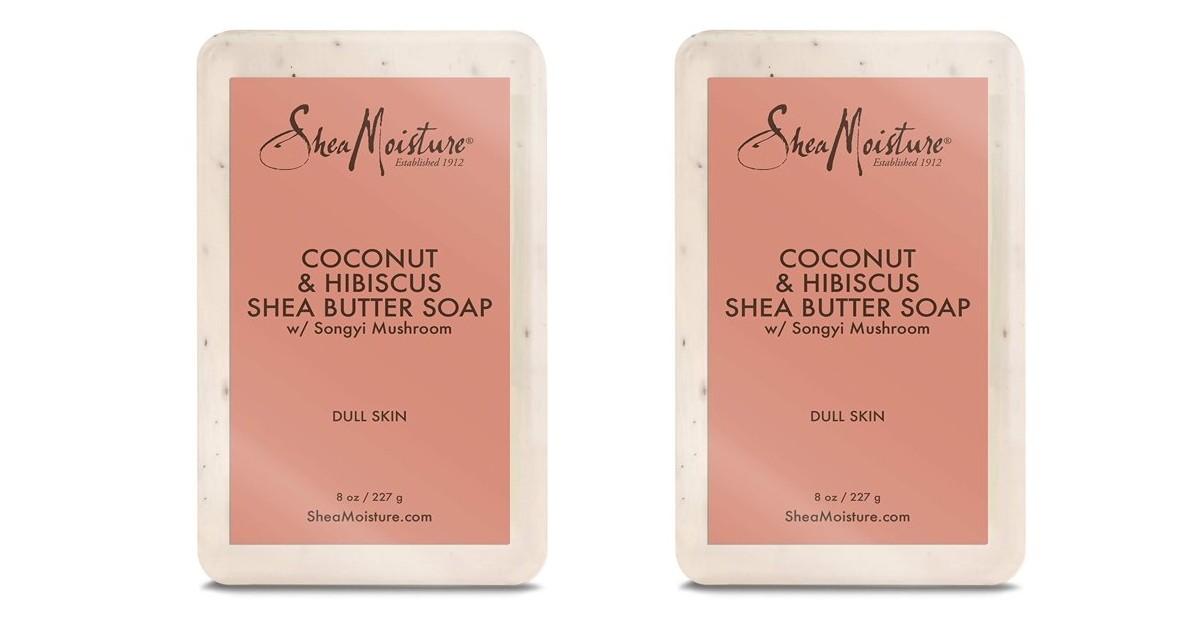 Two FREE SheaMoisture Soap at Walmart + $2.12 Moneymaker