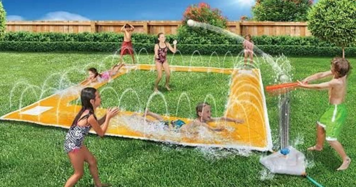 Homerun Splash Baseball Slide ONLY $29.99 Shipped