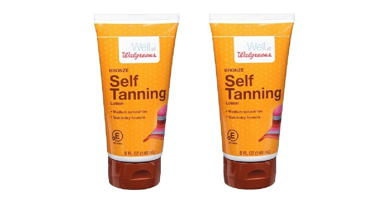 Walgreens Self Tanning Lotion ONLY $1.76 at Walgreens (Reg $8)