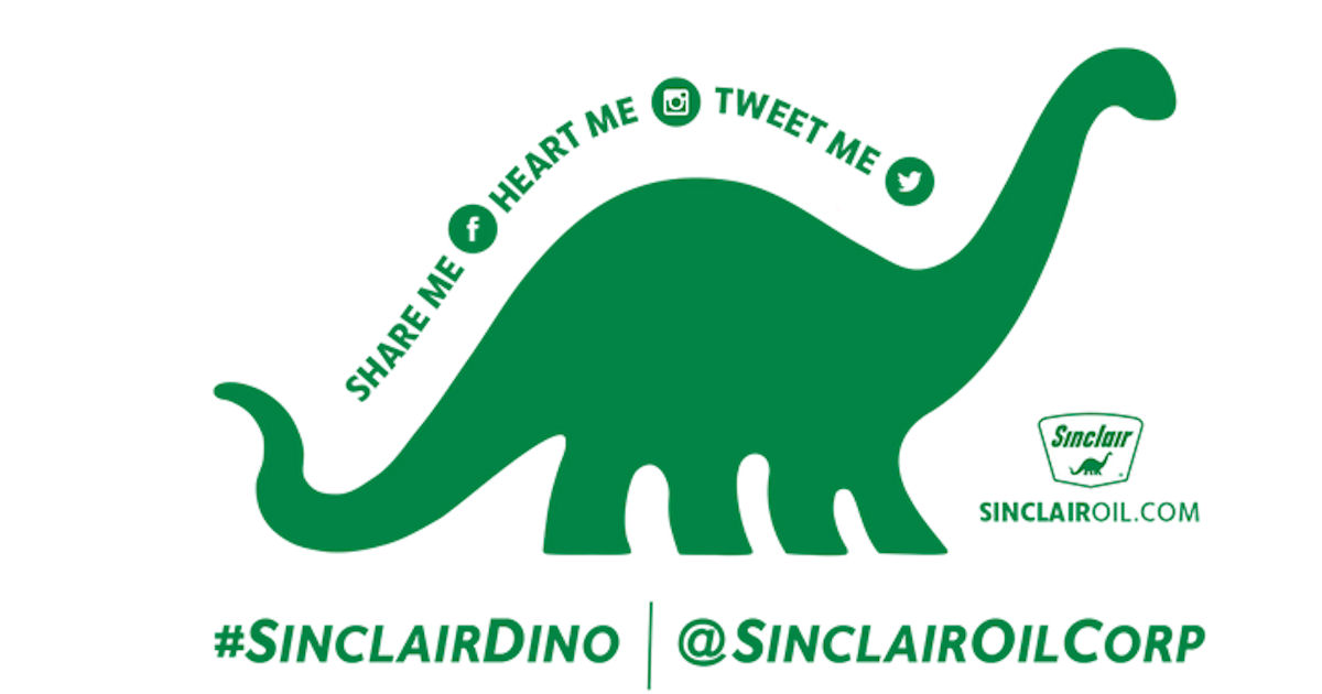 FREE Sinclair Dino Sticker...