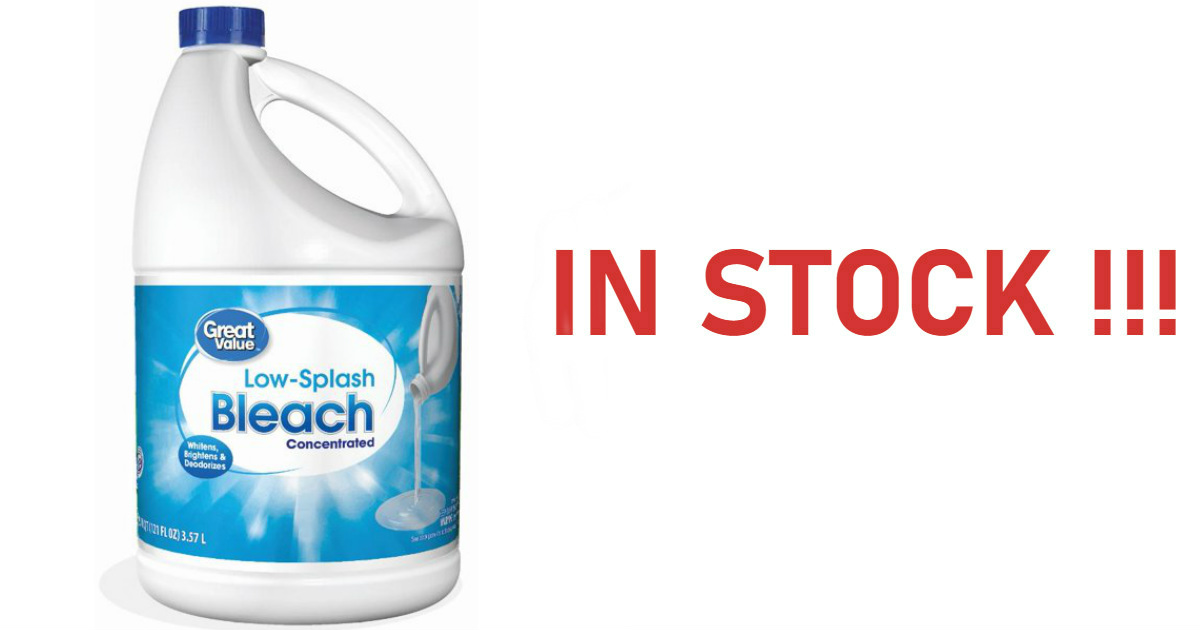 121oz of Bleach in Stock for $...