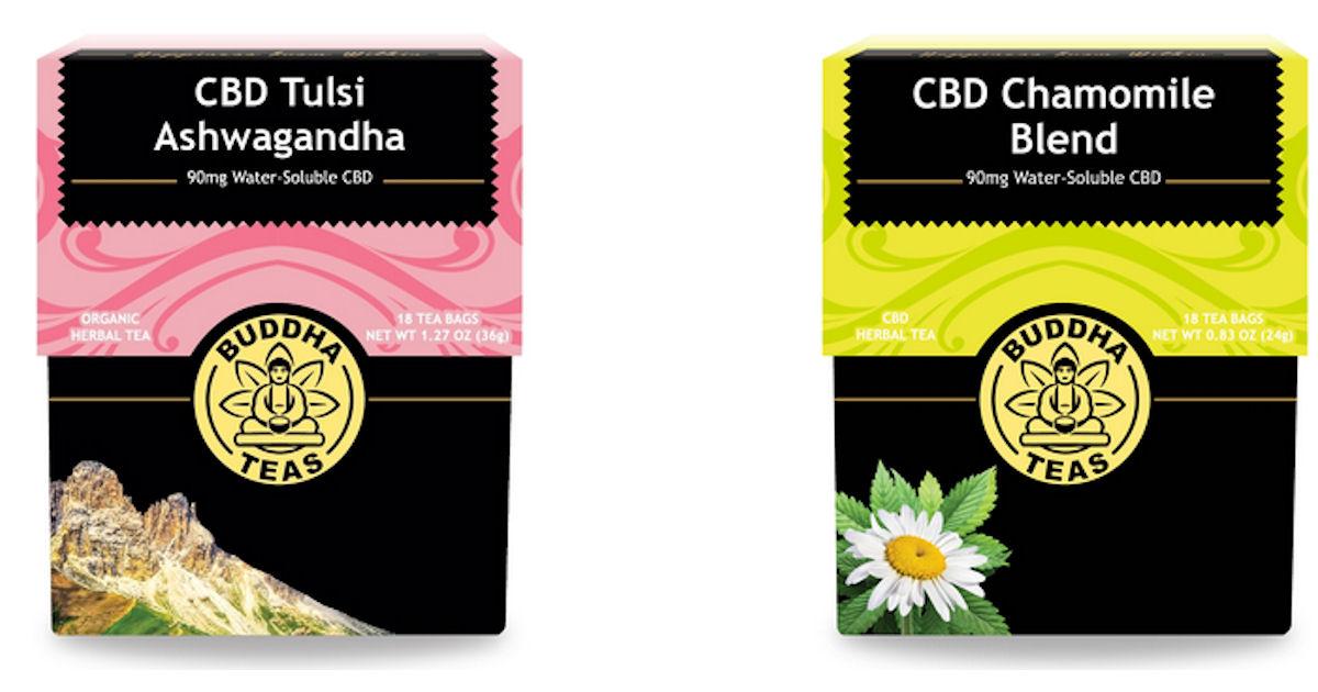 FREE Sample of Buddha CBD Tea.