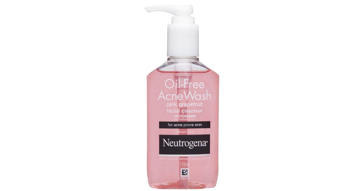 Neutrogena Oil-Free Acne Wash.