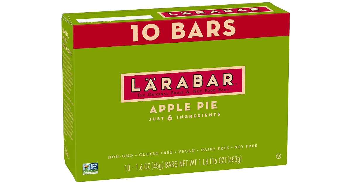 Larabar Apple Pie 10-Pack ONLY $6.57 Shipped at Amazon