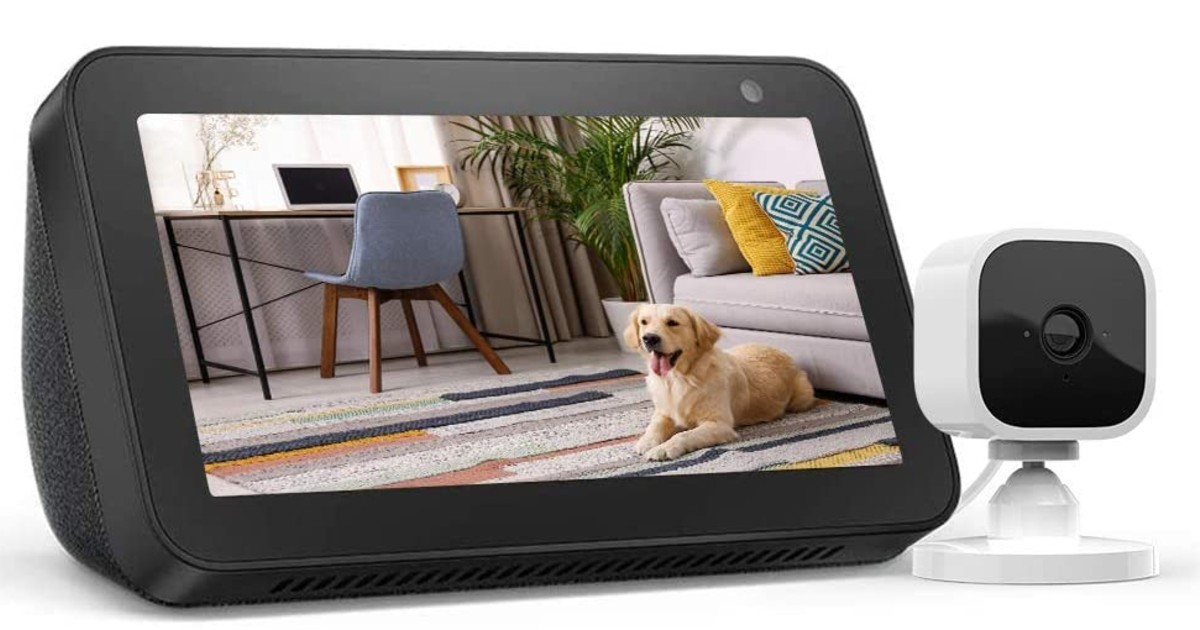 Echo Show 5 with Blink Smart Security Camera $64.99 (Reg. $125)