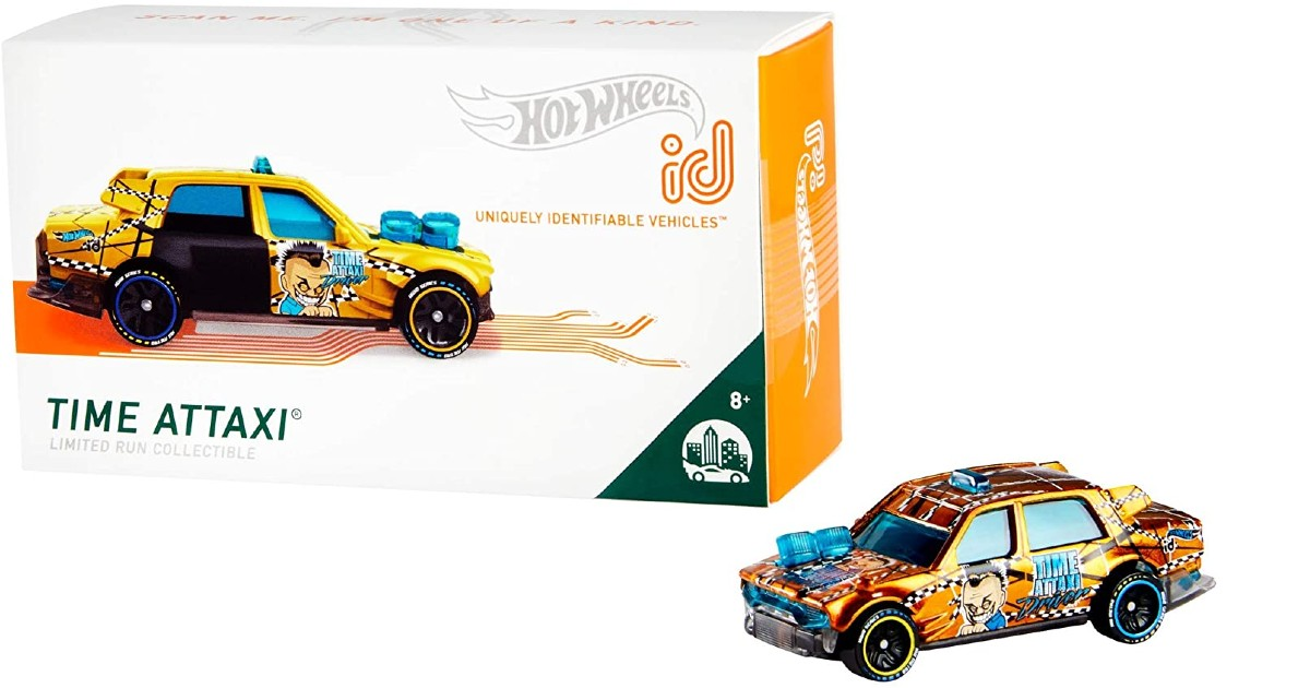 Hot Wheels id Time Attaxi ONLY $2.87 (Reg. $7)