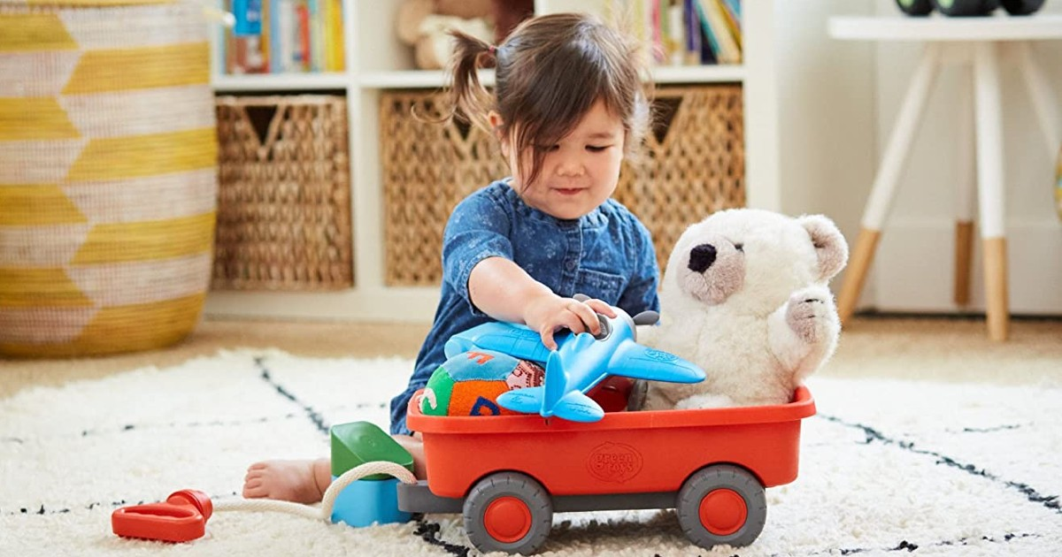 Green Toys Wagon Outdoor Toy ONLY $15.99 (Reg $25)