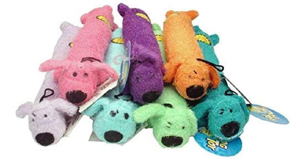 Multipet Loofa Dog Plush Dog Toy ONLY $3.43 Shipped (Reg $10)