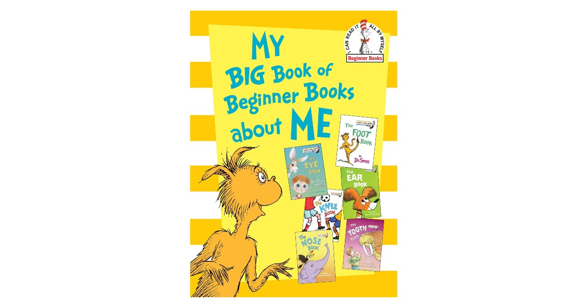 My Big Book of Beginner Books About Me ONY $8.19 (Reg. $17)