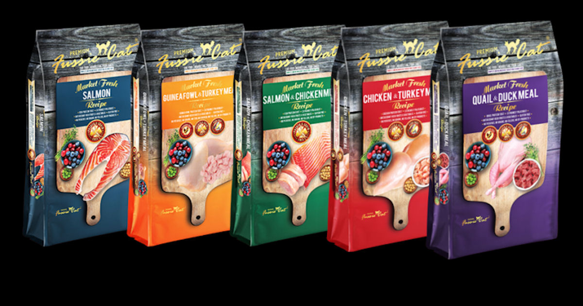 2 FREE Fussie Cat Food Samples
