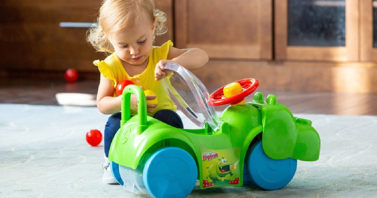 Hungry Hungry Hippos Ride-On T...