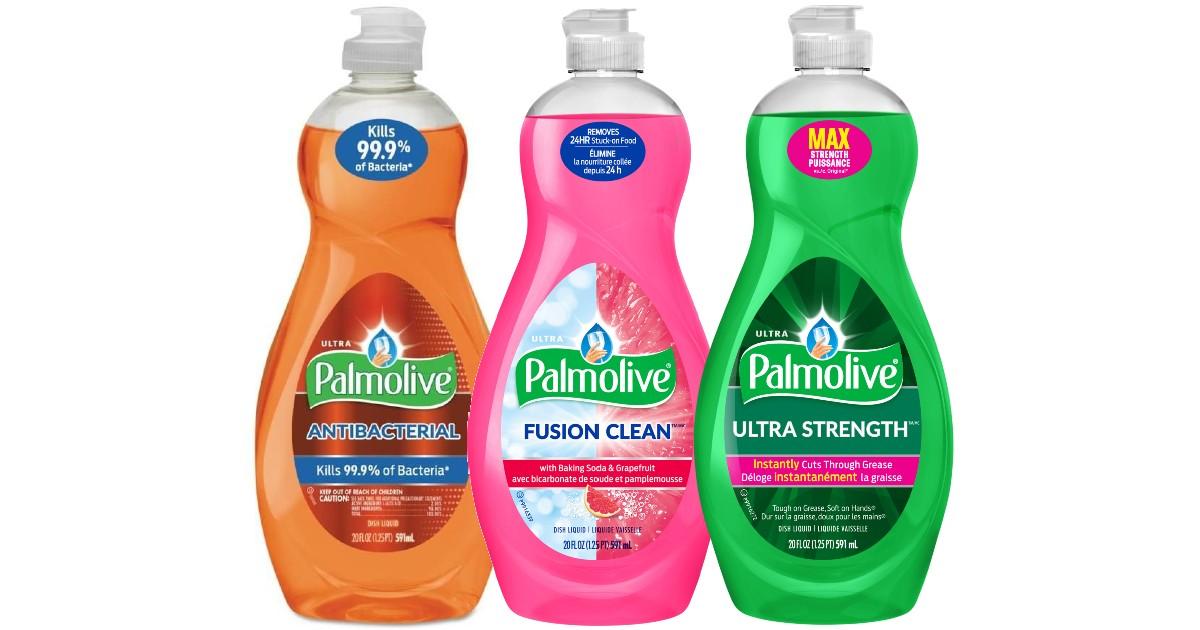 Palmolive Dish Soap ONLY $0.74 at Walgreens